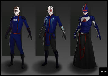 Character Concepts by Saza-Productions