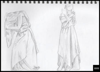 Untimed Cloth Study 02 by Saza-Productions