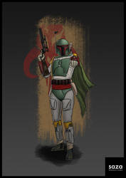 Boba Fett by Saza-Productions