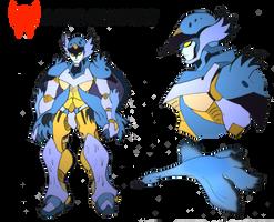 Transformers- Beast Wars Future- Windrunner by NickOnPlanetRipple