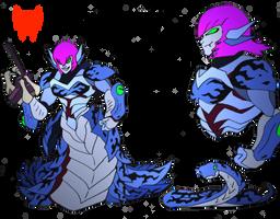 Commission- Beast Wars OC- Snapshot by NickOnPlanetRipple