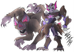Wraith- Beast Wars Future by NickOnPlanetRipple
