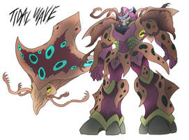 Tidal Wave- Beast Wars Future by NickOnPlanetRipple