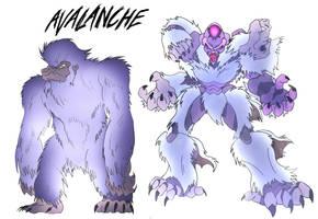Avalanche- Beast Wars Future by NickOnPlanetRipple