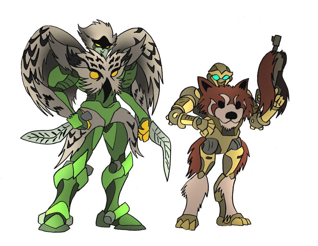 Beast Wars OCs commission by NickOnPlanetRipple