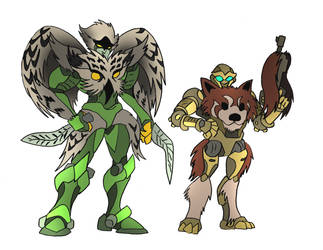 Beast Wars OCs commission by NickOnPlanetRipple