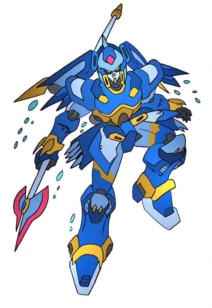 Leviathan Gundam by NickOnPlanetRipple
