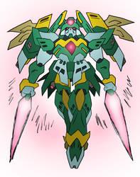 Harpuia Gundam by NickOnPlanetRipple
