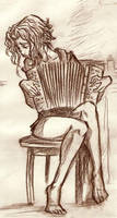 accordion in the morning by Balak01