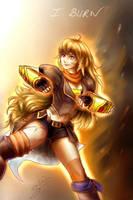 Yang - I Burn by sarahlrn