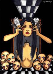 The grudge by Almatheya-Andra
