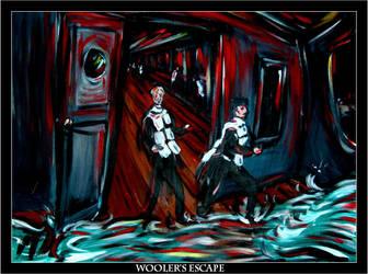 Wooler's Escape by Jimmy-C-Lombardo