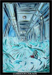Corridor Cascade by Jimmy-C-Lombardo