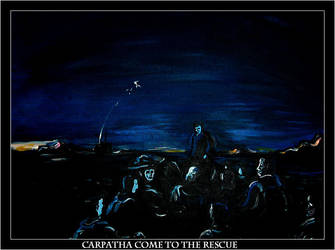 Carpathia Comes to the Rescue by Jimmy-C-Lombardo