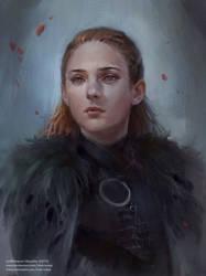 Sansa Stark by Innervalue