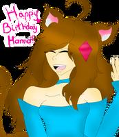 Happy Birthday Hanna by sweetsweetmina