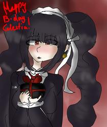 Happy Birthday Celestia Ludenberg by sweetsweetmina
