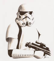 Stormtrooper by MikimusPrime