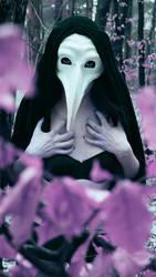Psychodeliczne Maska Zarazy /  Mask of the plague by RedIvan