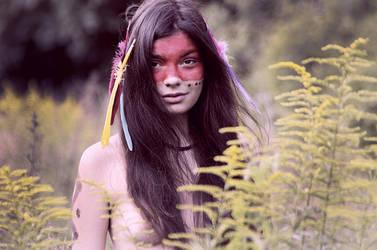 Indianka Laka / Indian meadow by RedIvan
