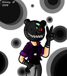 OC - StitchedTeddyBear by I-Luv-Emoboys