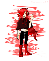 Red Randy - Corrupt Randy by I-Luv-Emoboys