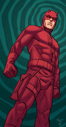 Daredevil by Leonardo Romero and Rod Fernandes by rofdsmxc