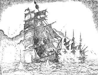 Sea Battle by leothefox