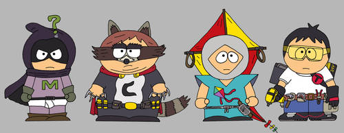 Coon and Friends by cartoonist91