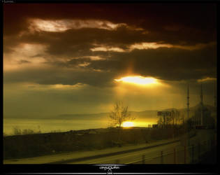 Sunrise by psycoupe