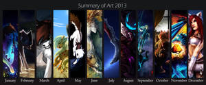 Summary of Art 2013 by Konveekou