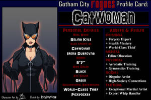 Profile - Catwoman by Roysovitch