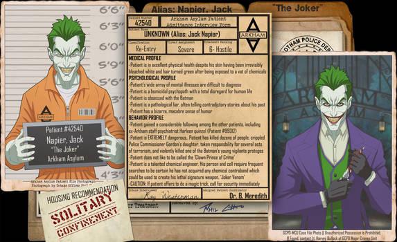 Arkham Files - Joker by Roysovitch