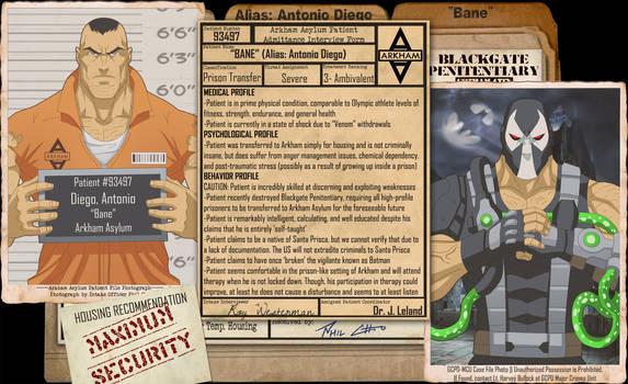Arkham Files - Bane by Roysovitch