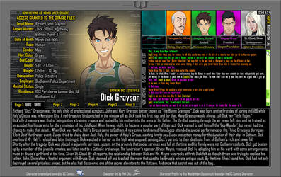 Oracle Files - Dick Grayson (Part 1 of 6) by Roysovitch