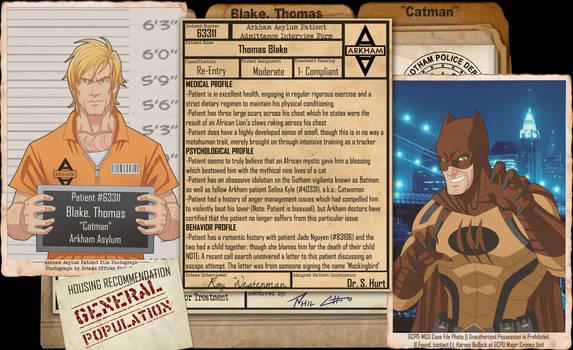 Arkham Files - Catman by Roysovitch
