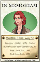 In Memoriam - Martha Wayne by Roysovitch