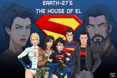 Earth-27's House of El (So Far) by Roysovitch