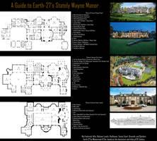Stately Wayne Manor by Roysovitch