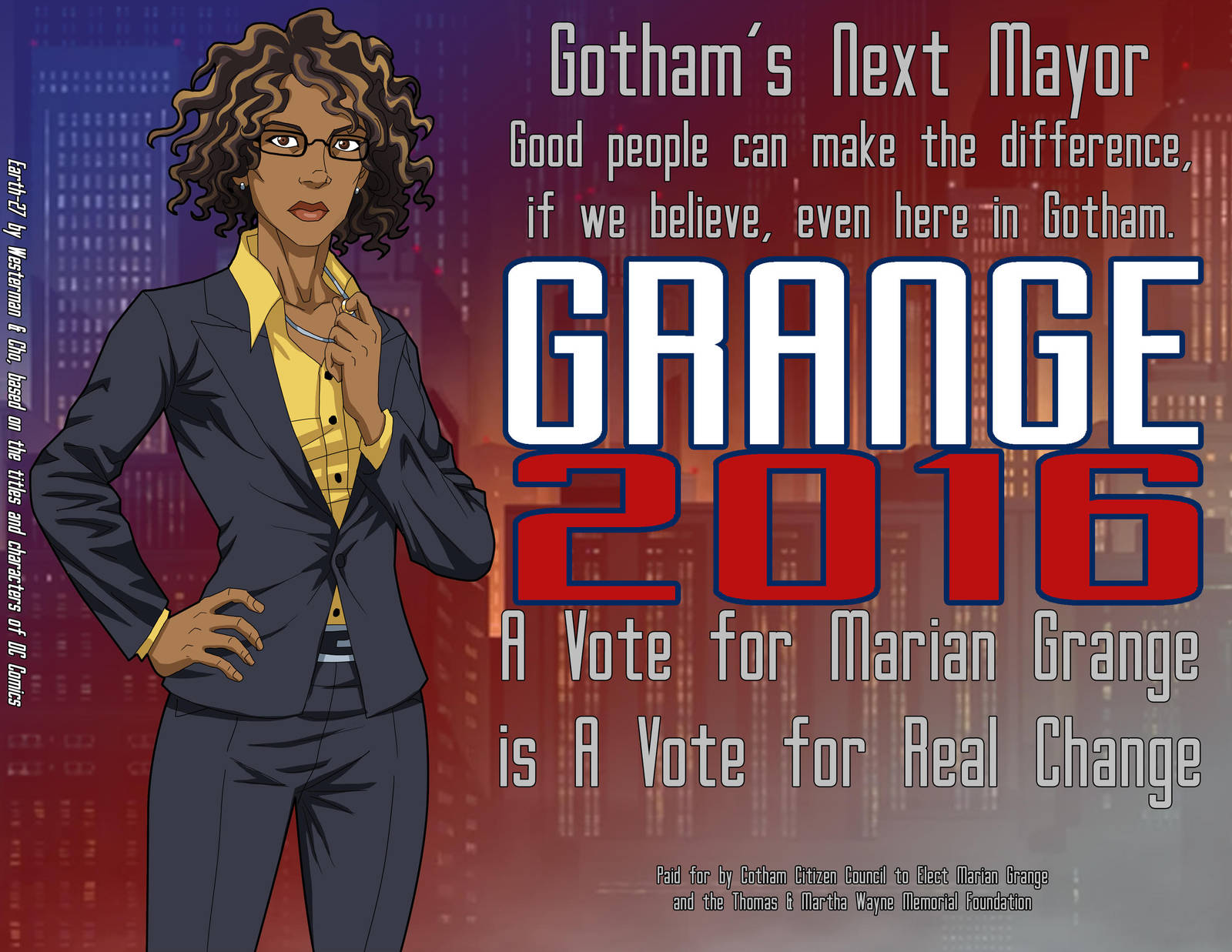 Elect Grange by Roysovitch