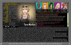 (Earth-27: Oracle File) Tyra Markov (Pg. 1/2) by Roysovitch
