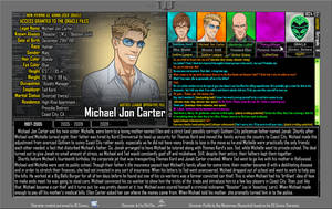 [Earth-27: Oracle Files] Michael Jon Carter  (1/3) by Roysovitch