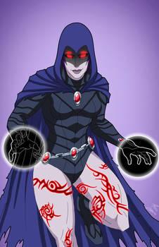 Earth-27 Raven [Demonic] by Roysovitch