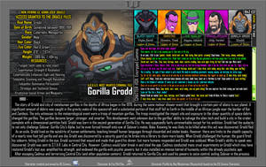 [Earth-27: Oracle Files] Gorilla Grodd by Roysovitch