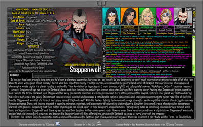 [Earth-27: Oracle Files] Steppenwolf by Roysovitch