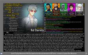 [Earth-27: Oracle Files] Kid Eternity by Roysovitch