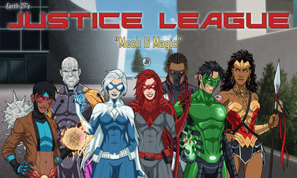 [E27 Rosters] Justice League - 6 - Mech + Magic by Roysovitch