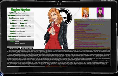 [Earth-27: Oracle Files] Regina Hayden (1/2) by Roysovitch