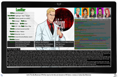 [Earth-27: Oracle Files] Lucifer by Roysovitch
