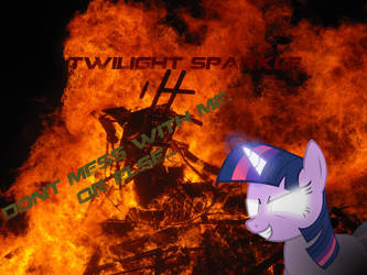 Twilight Sparkle FIRE EDITION by hellpes